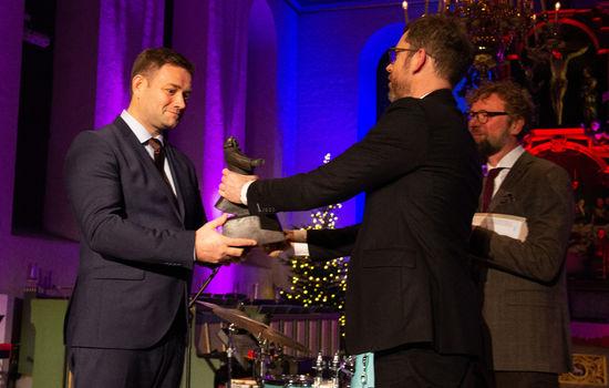 Petter Dass-prisen til Arne Viste